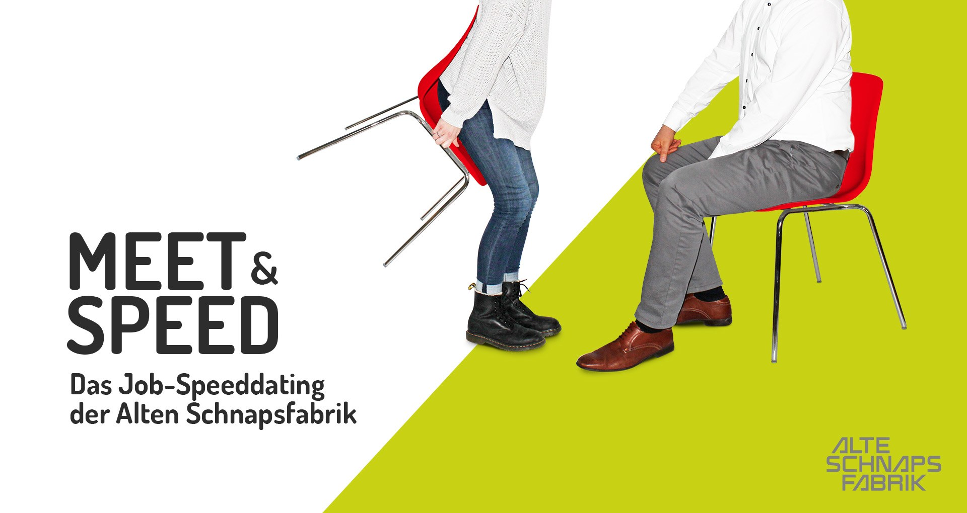 Meet & Speed – Das Job-Speeddating der Alten Schnapsfabrik